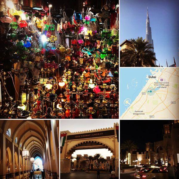 Dubai collage