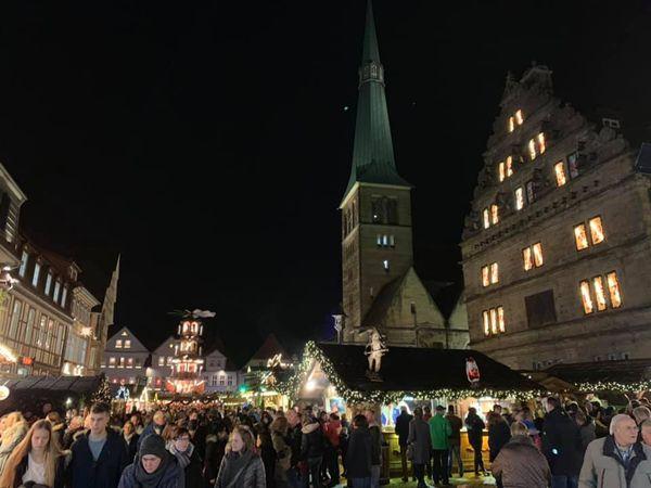 Christmas market hameln germany