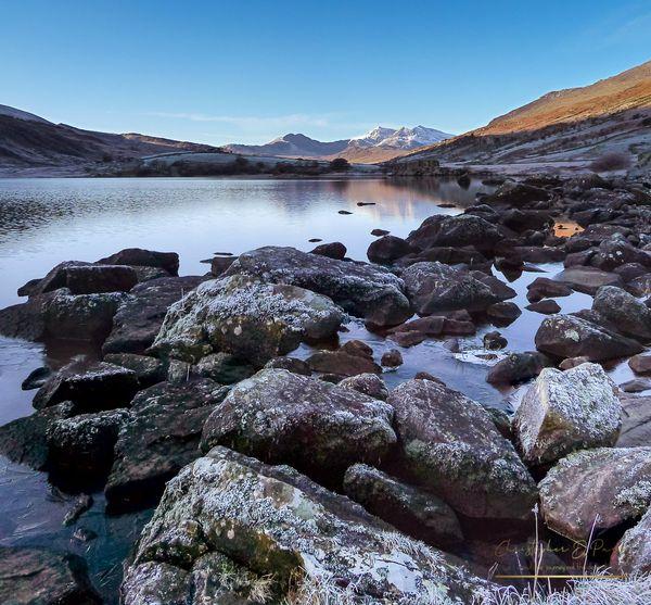Snowdon across Llynnau Mymbyr nr Capel Curig