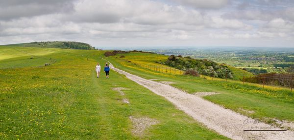 West towards Ditchling Beacon