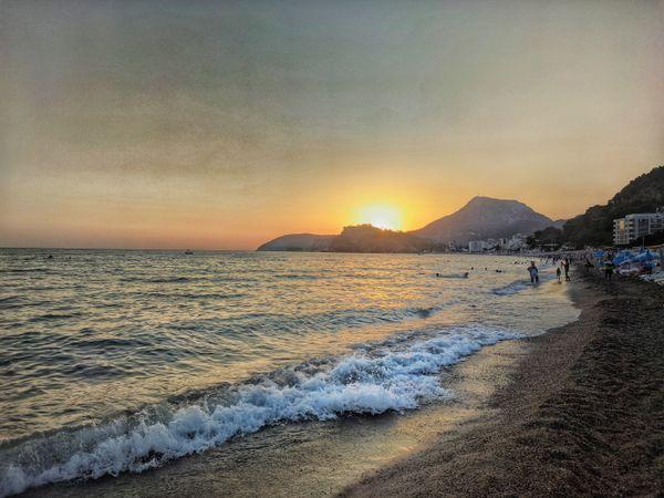 Sea ??sunset