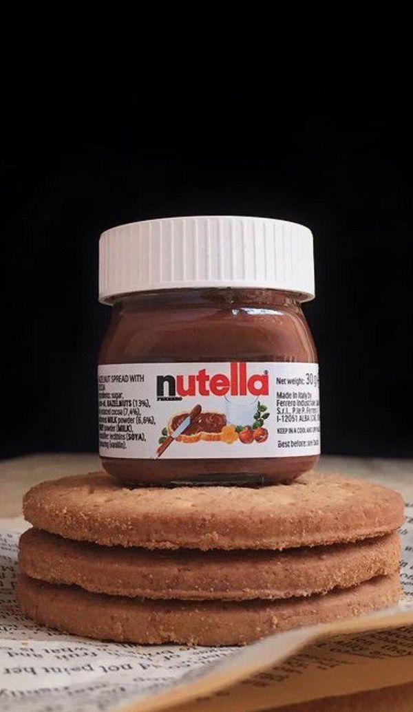 A tiny nutella jar