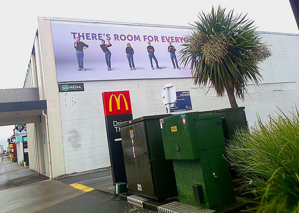 Theres room...