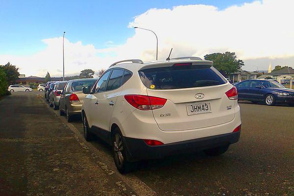 Hyundai ix35 elite (2012)