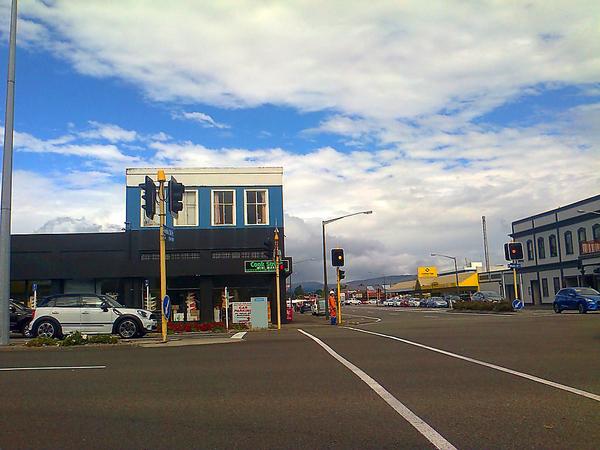 Clouds over Princess street