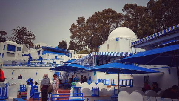 The bleue of sidi bou saïd tunisia