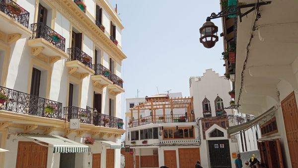 Old city tangier morrocco