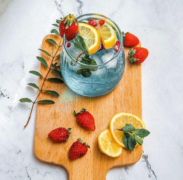Refreshing summer juice