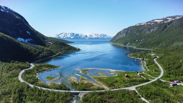 Skillefjord in Alta, Norway