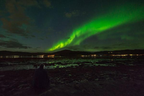 Northern Lights in Alta fjord