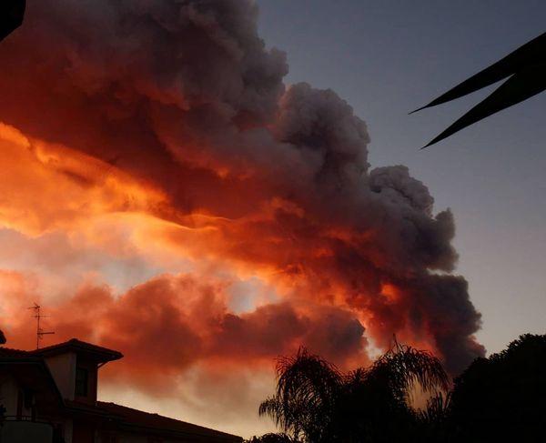 Etna Eruption 2020-02-16
