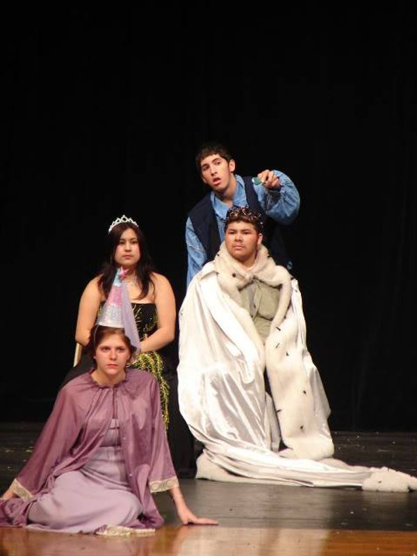 Josh Martin as Hamlet