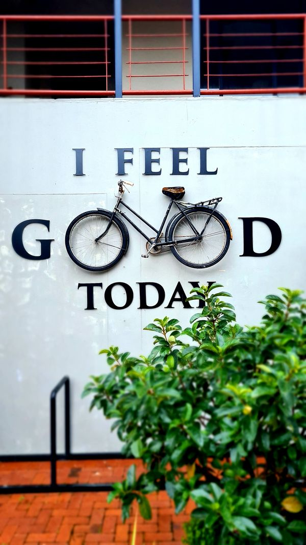 Feel good sign