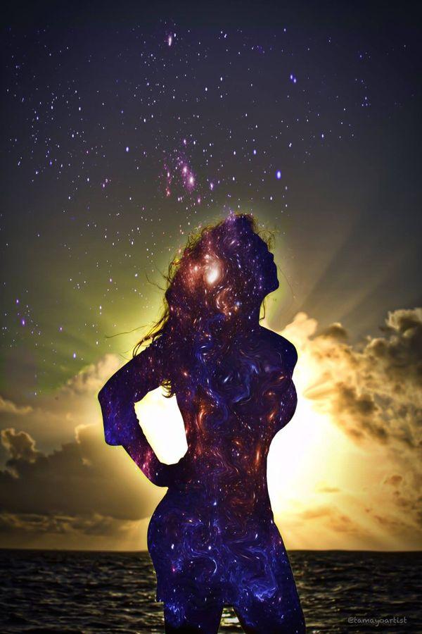 Astronomy Woman
