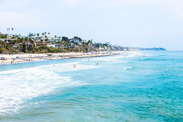 San Clemente Beach Town