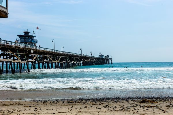 Beach and Pier in San Clemente