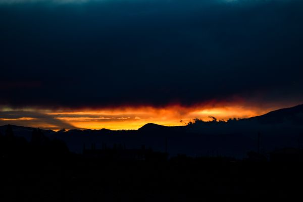 Fire sky