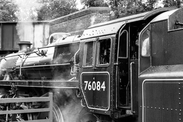 Lovely old steam train by Clive Wells
