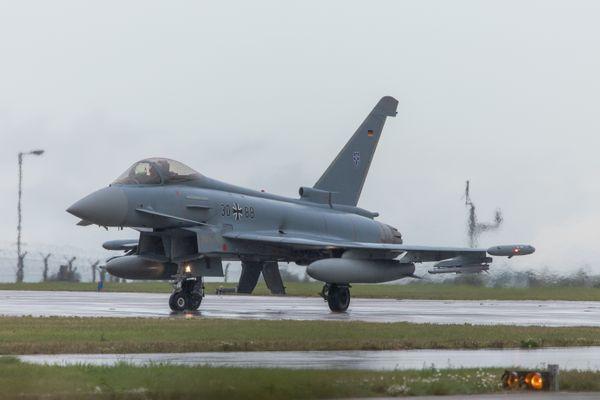 German Air Force Eurofighter Typhoon