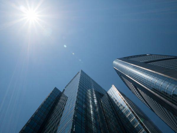 Skyscrapers in Tokyo, Japan