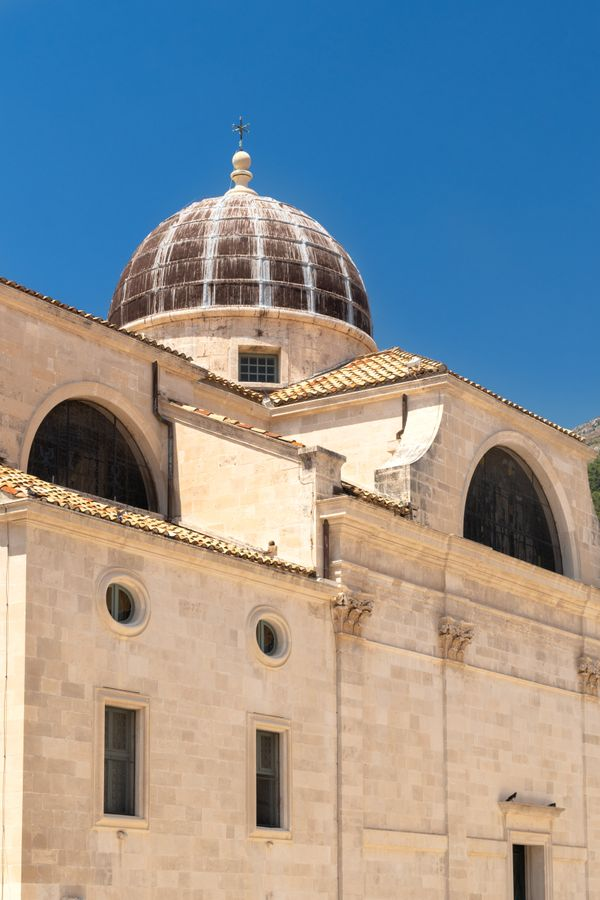 Dubrovnik dome roof