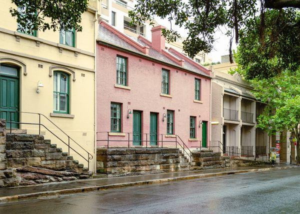 Sydney terraces
