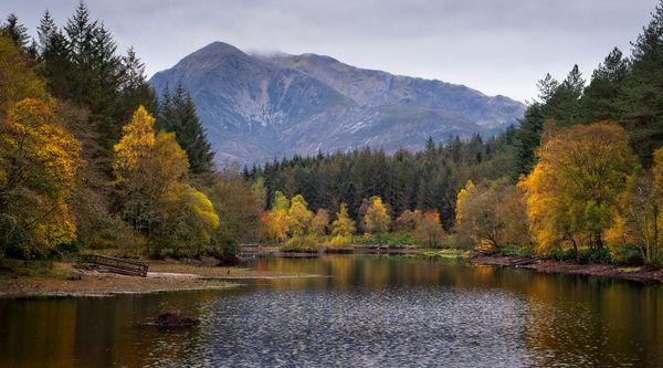 Autumn at Glencoe Lochan, Glencoe, Scotland (2)