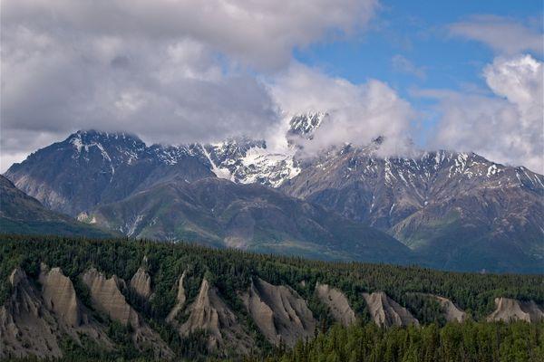 Matanuska River Valley, Alaska, USA