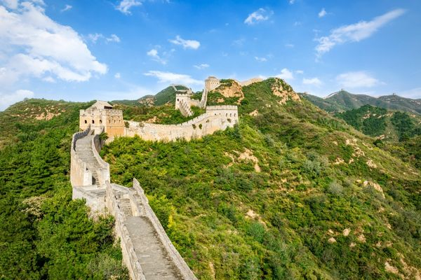 The spectacular Great Wall