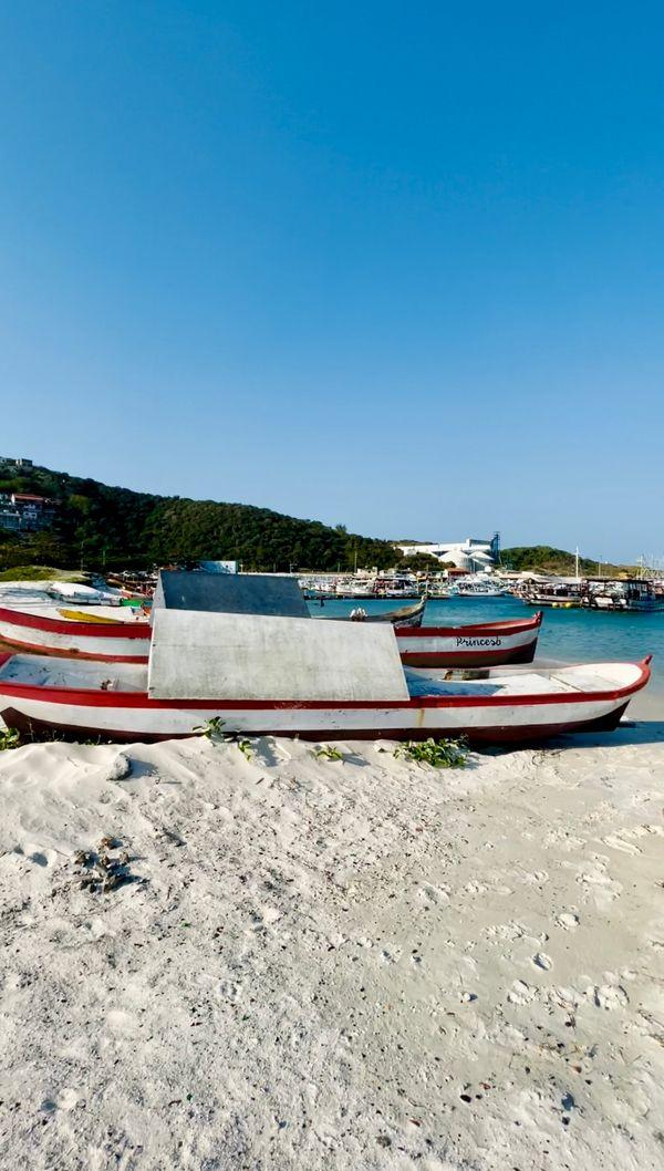 Travel Brazil wooden boats