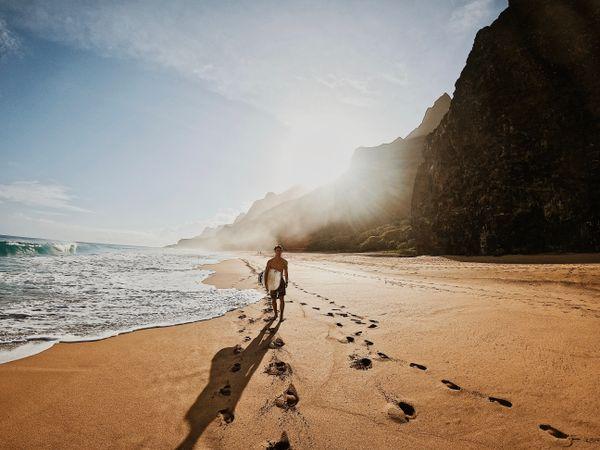 Travel Surf Picture Surfer