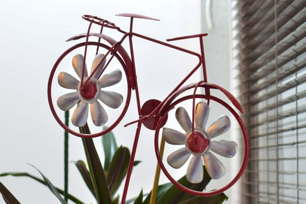 Bicycle decor at home