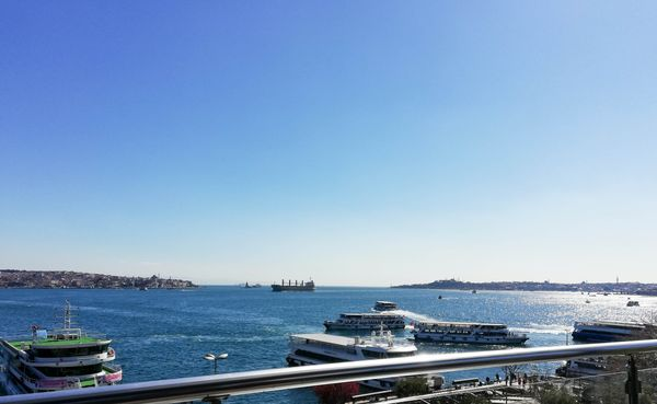Istanbul bosphorus from BesikAsk