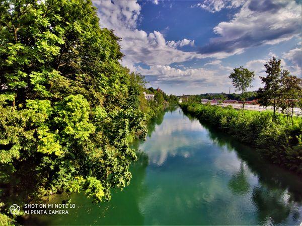 River Sava Kranj Slovenia