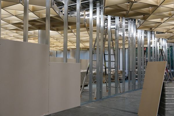 Construction site / drywall