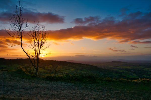 Leckhampton Hill Sunset 27/01/2019