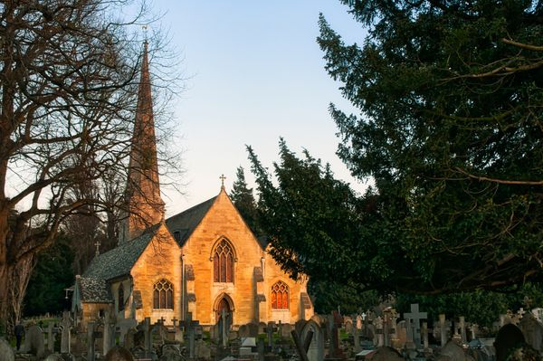 St Peters Church, Sunset
