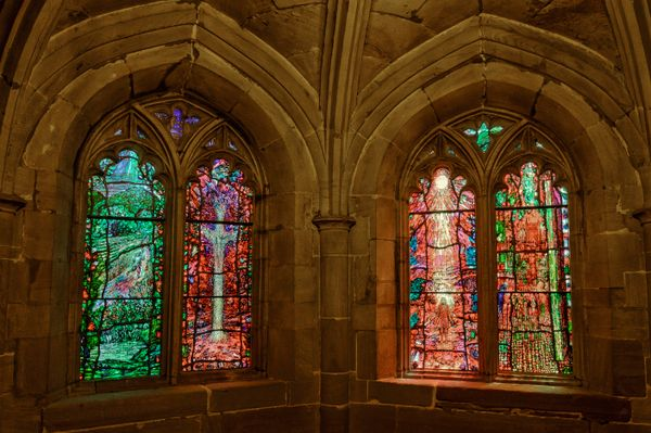 Stained Glass Windows, Hereford Cathedral