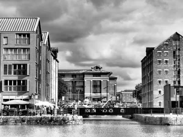 Gloucester Docks - View Across The Dock