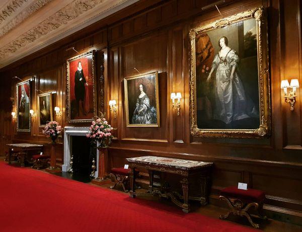 Room at the Holyroodhouse Palace, Edinburgh