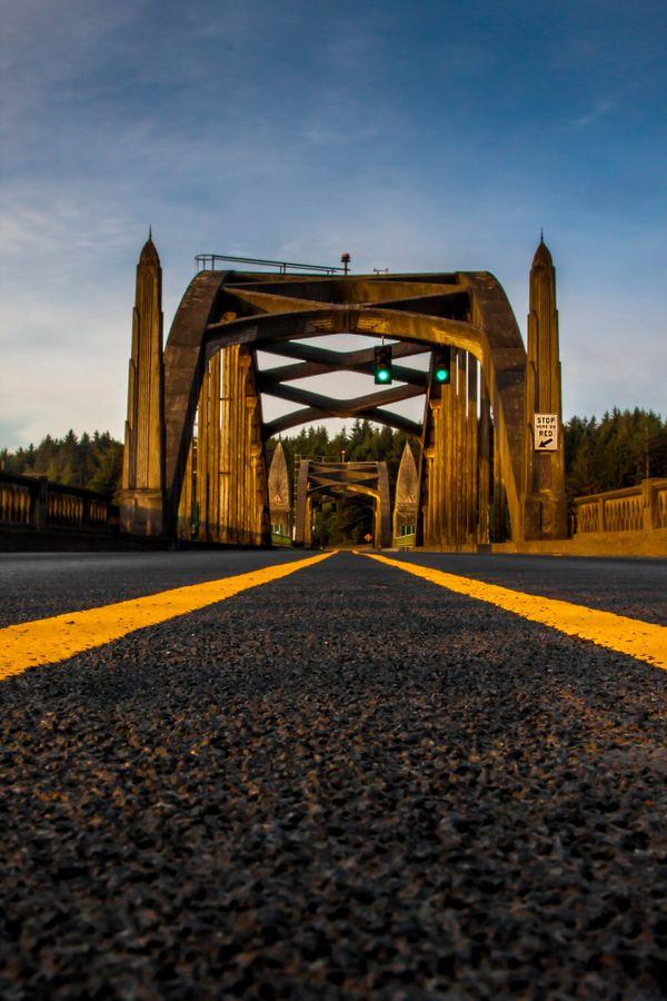 Siuslaw River Bridge Florence Oregon