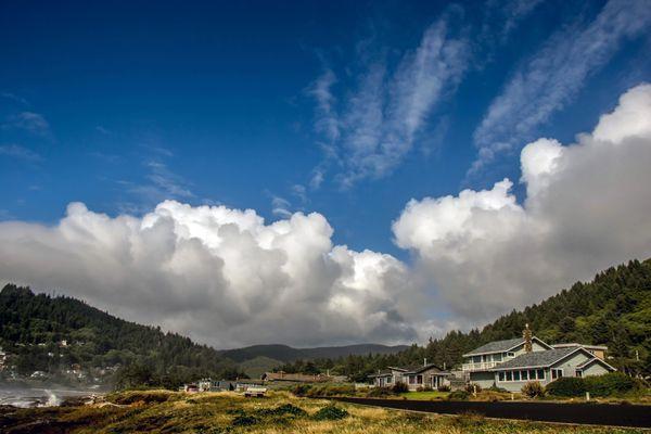 Cumulus Cloudscape Yachats Oregon