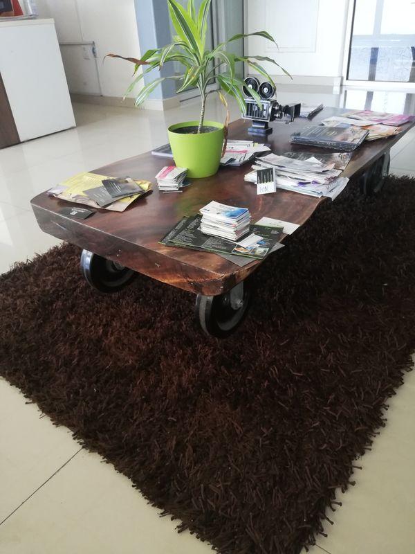 Mesa en recepción