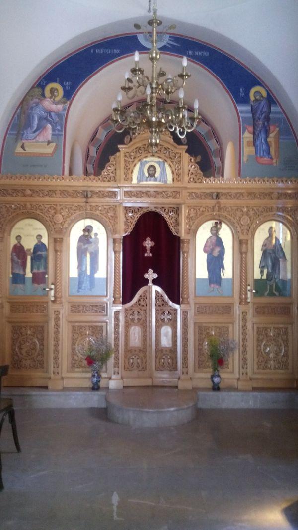 ORTHODOX CHRISTIAN TEMPLE-GREECE