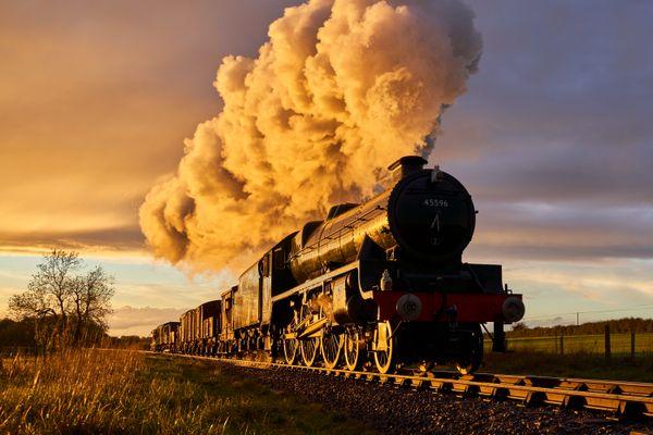 LMS Jubilee Locomotive No.45596 Bahamas
