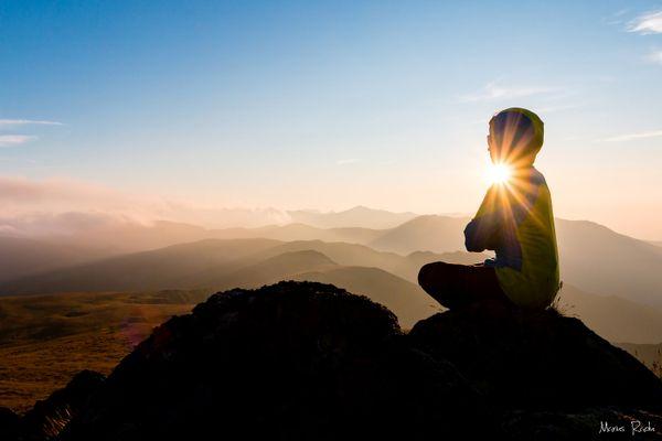 Meditative twilight