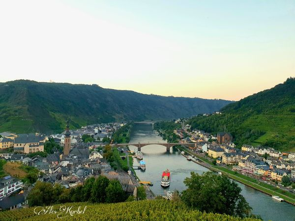 The Moselle near Cochem, Germany