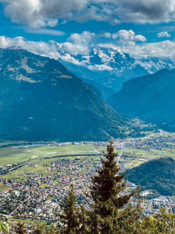 View from Harder Kulm - Top of Interlaken 3