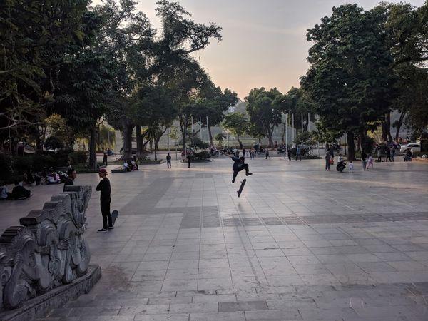 Hanoi Skateboarder