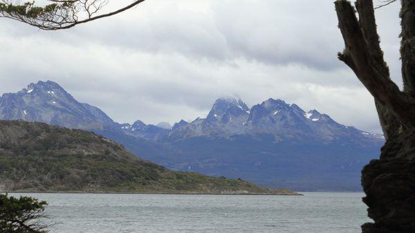 Mountains of Ushuaia Argentina